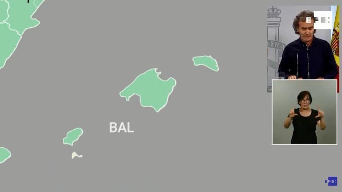 Majorca, Minorca & Ibiza to remain in Stage 2.