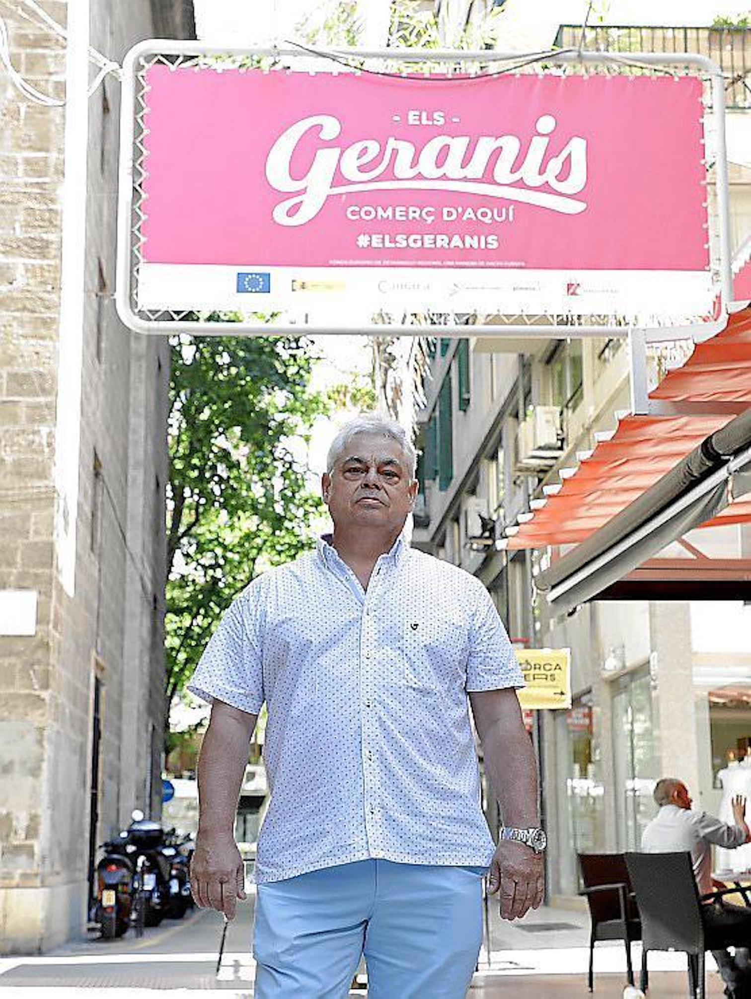 Mateu Cunill, President, Els Geranis Merchants Association, Balearic Confederation of Comerç & Owner of Pedro Lladó Tailoring