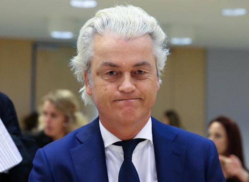 Geert Wilders, Dutch Far-Right PVV Party.