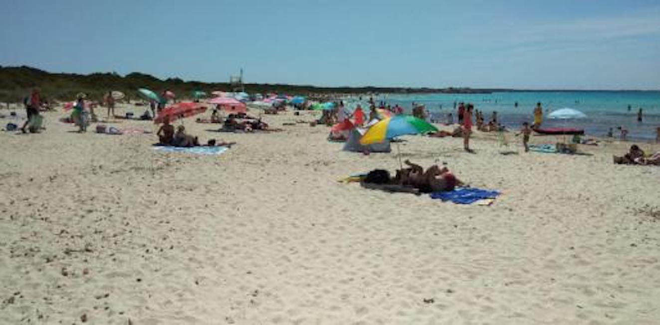 sa Rapita beach, Majorca.