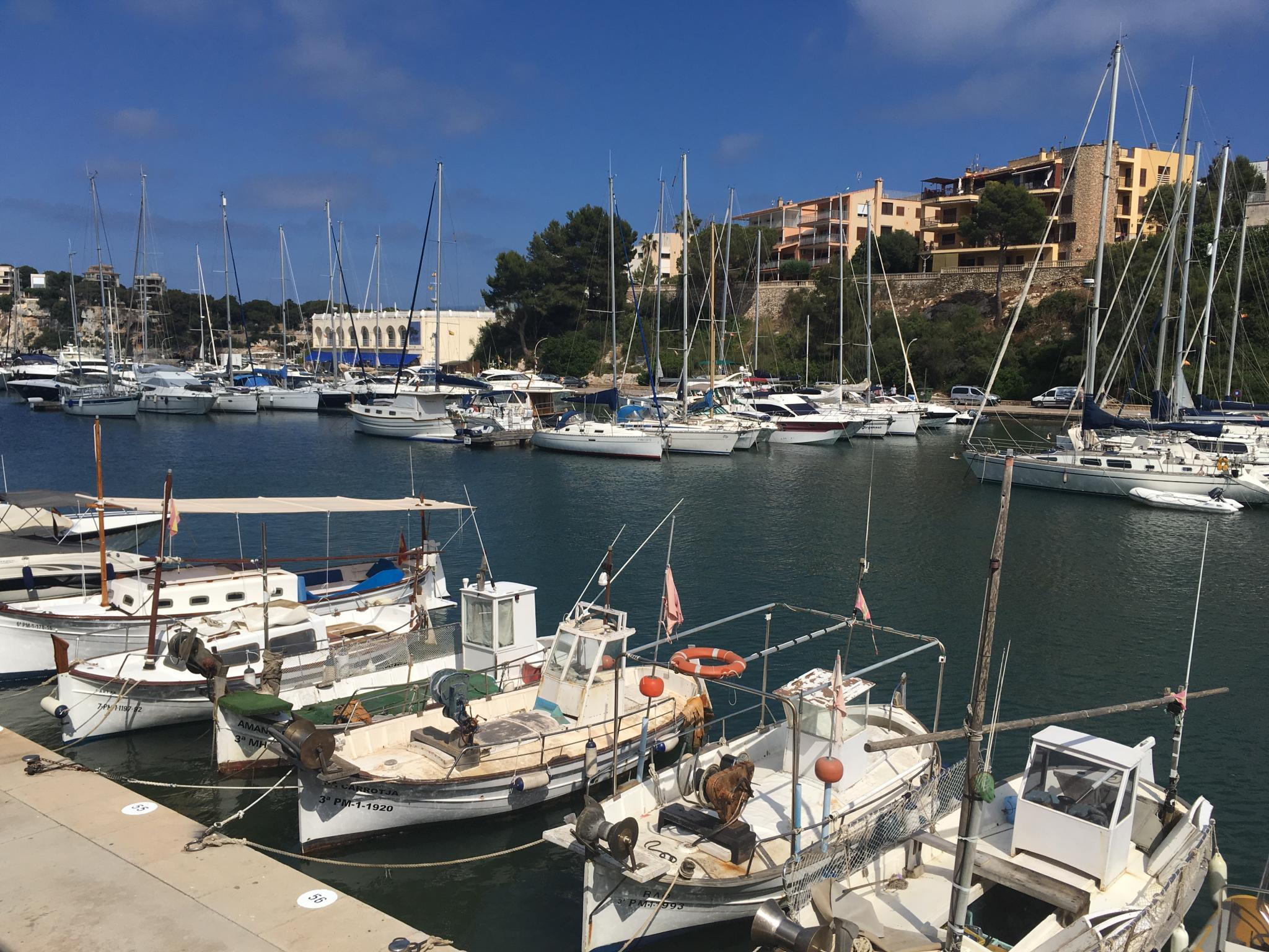 Porto Cristo Harbour, Majorca.