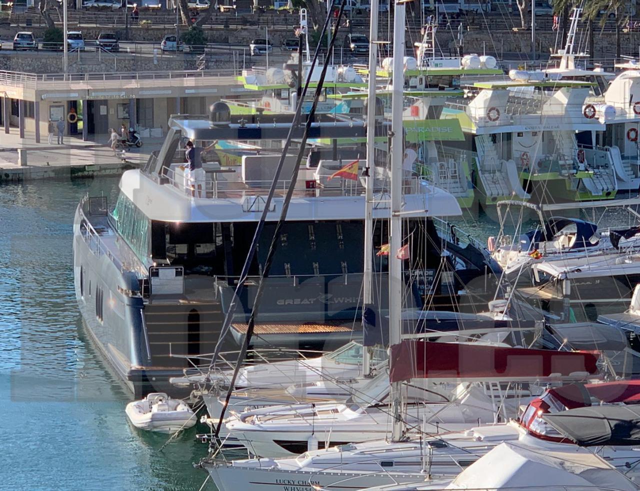 Rafa Nadal's new catamaran has arrived in Porto Cristo.