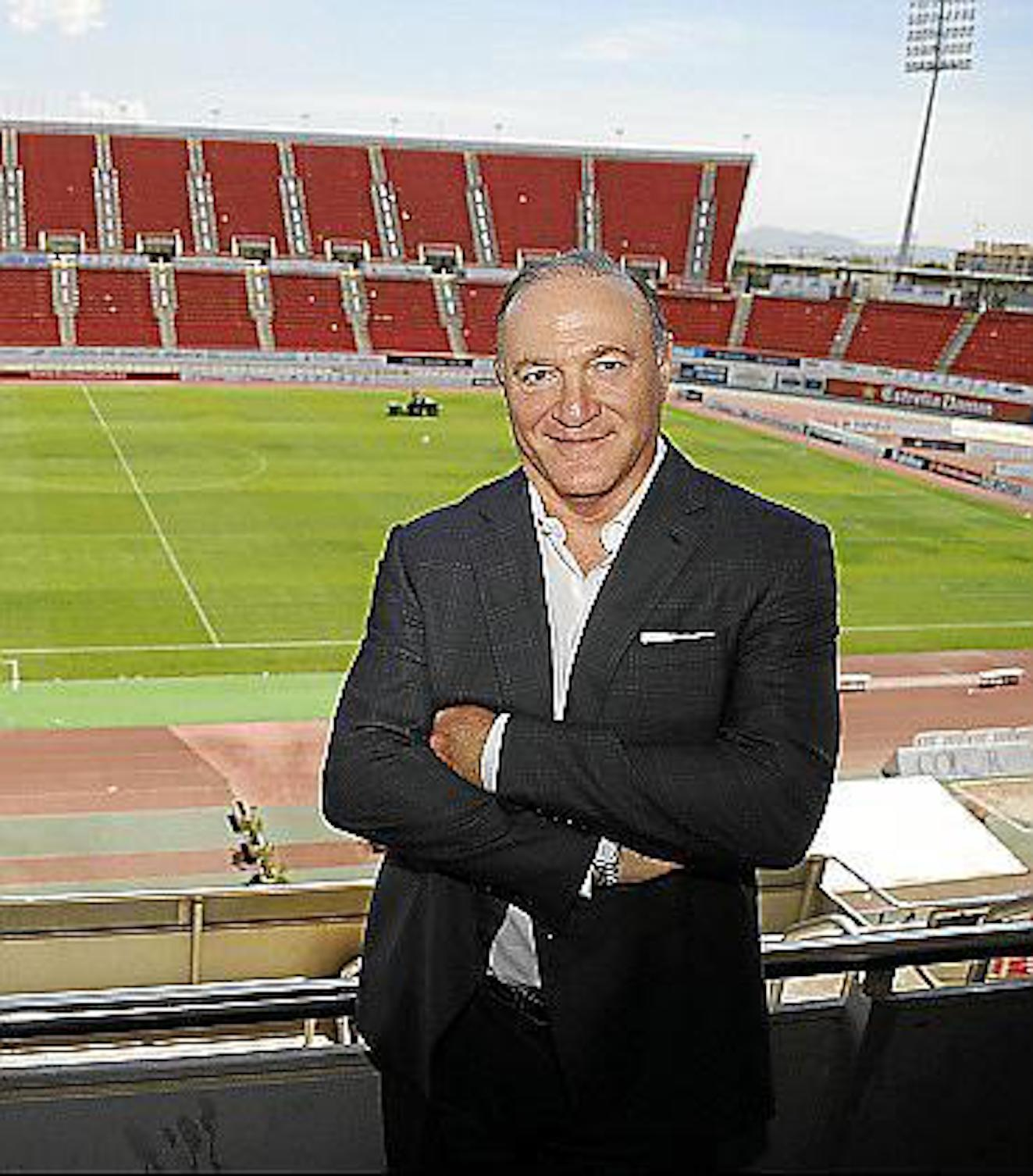Andy Kohlberg, RCD Mallorca President.