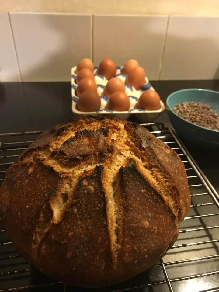 Trudi's sourdough loaf