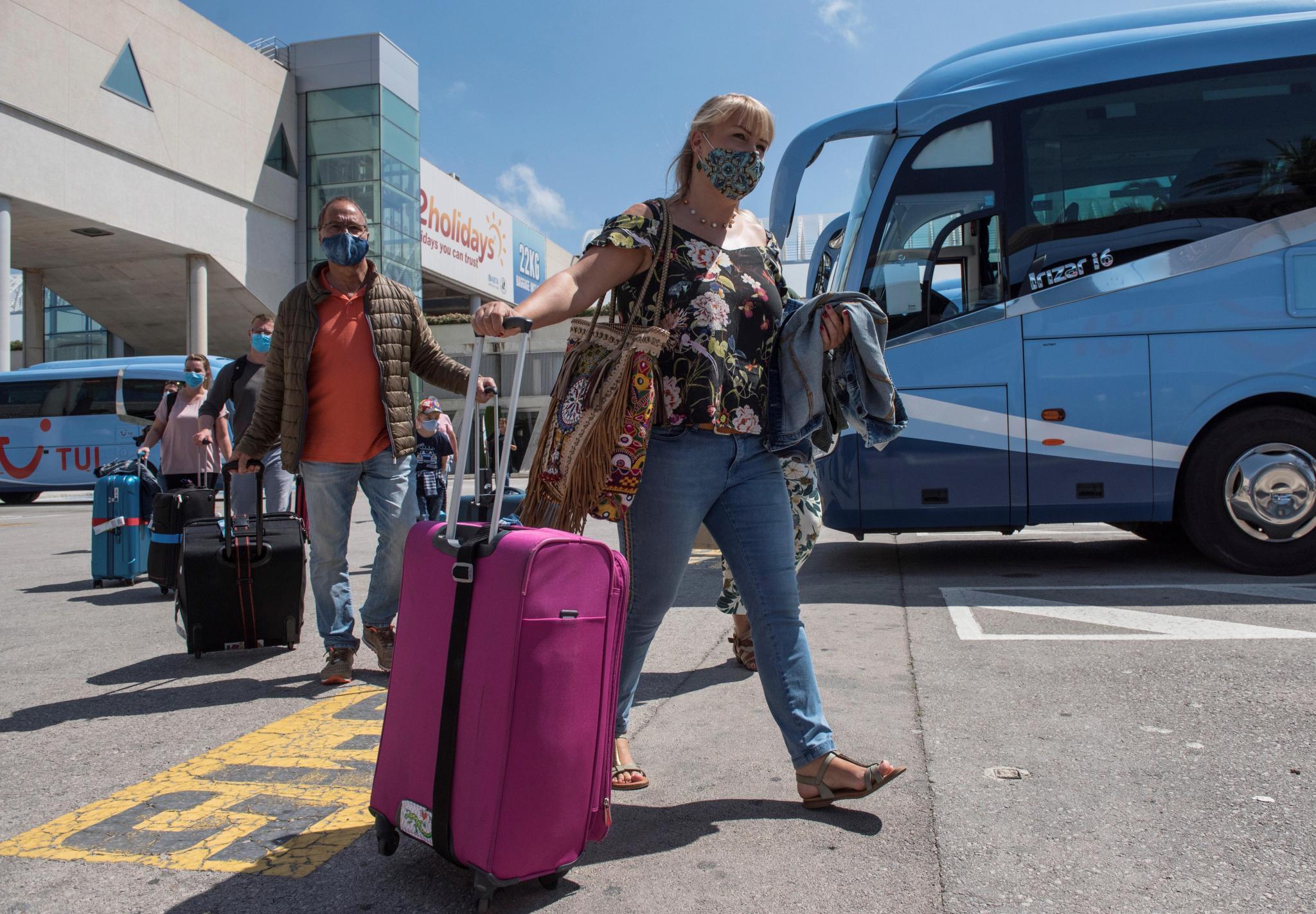 Casi 400 alemanes llegan el lunes con Tui a Mallorca en marco de plan piloto