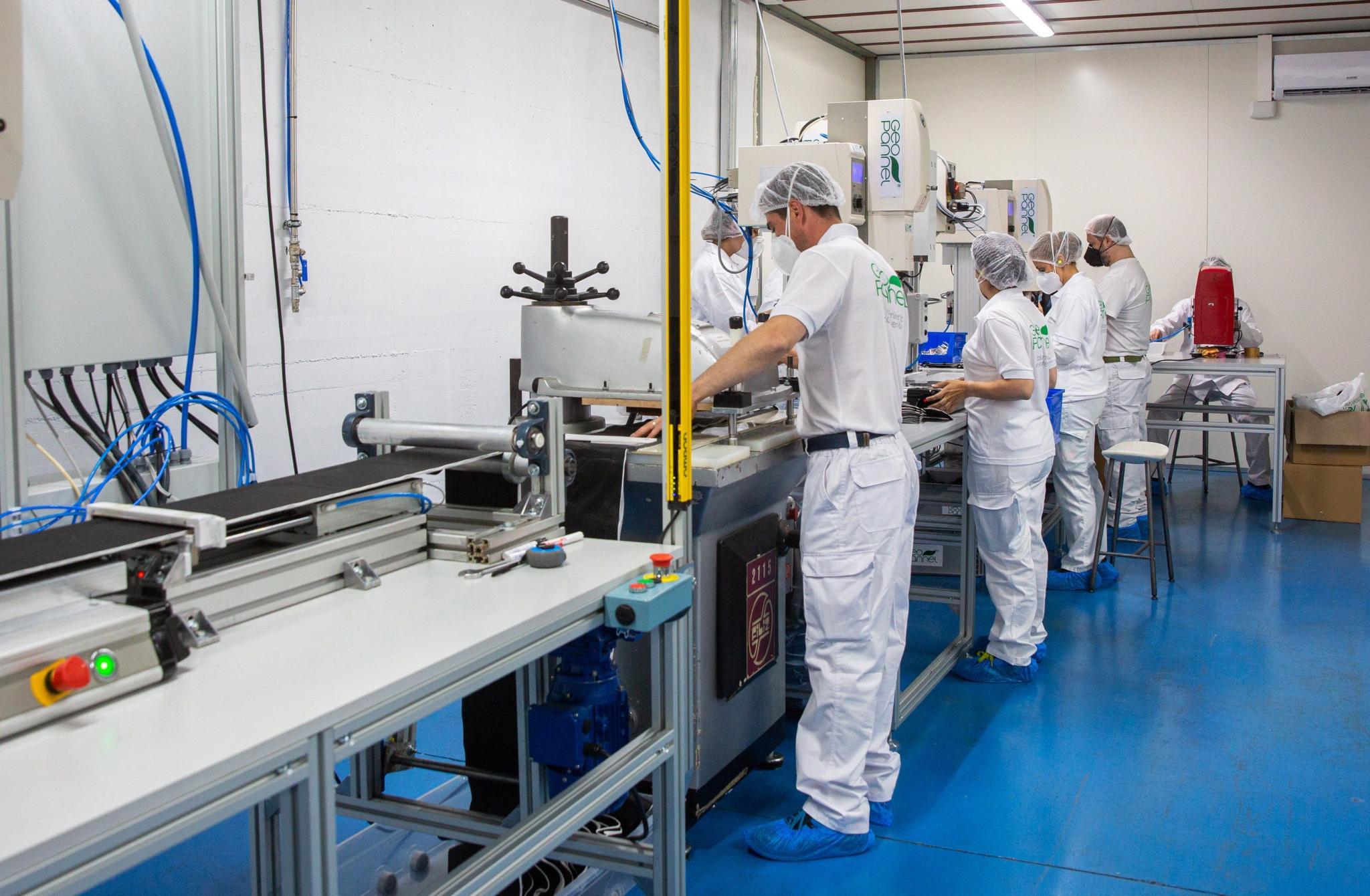 Una empresa riojana trabaja en una mascarillas que neutralicen la COVID-19