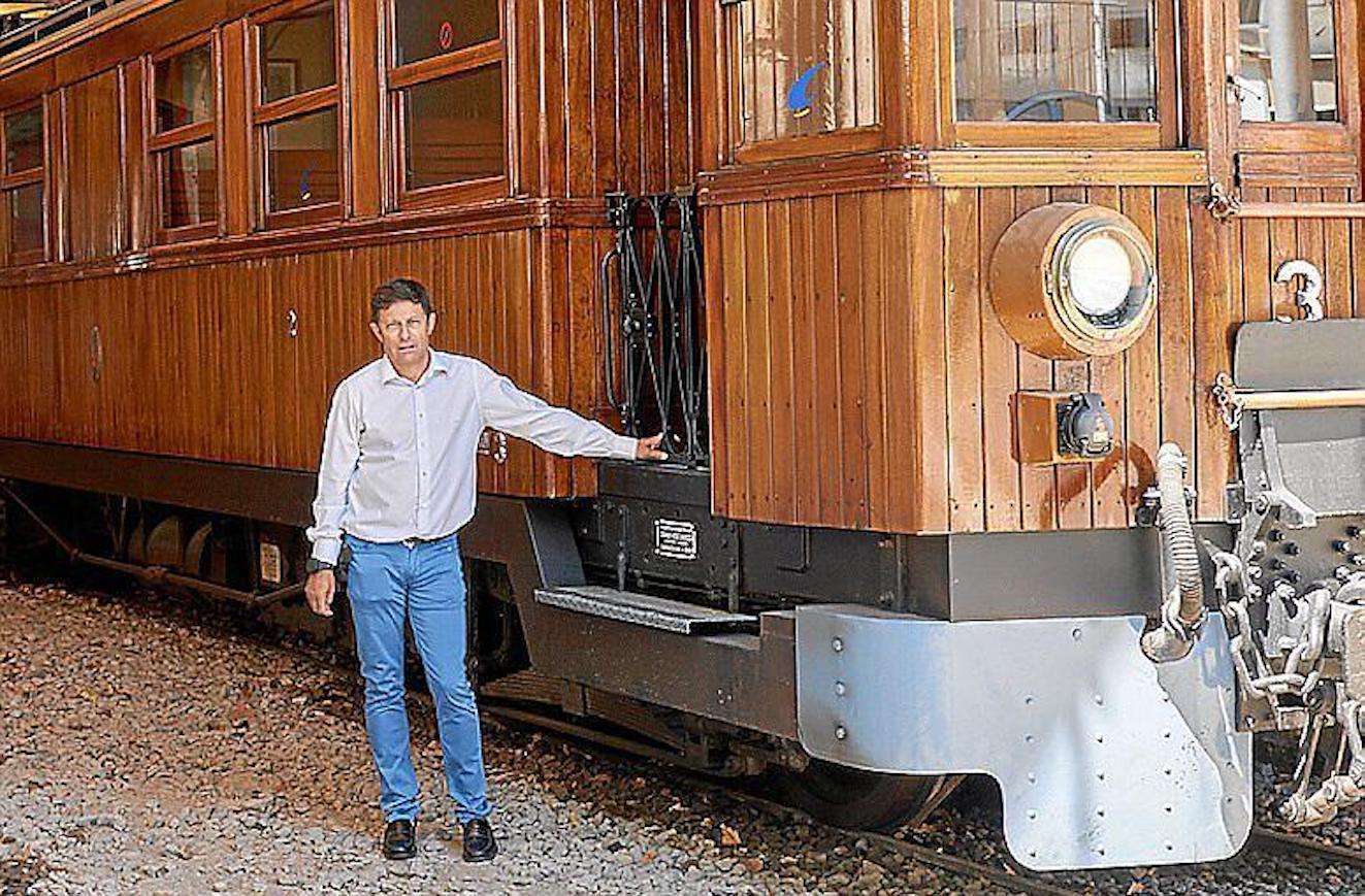 Oscar Mayol, President, Ferrocarril de Sóller