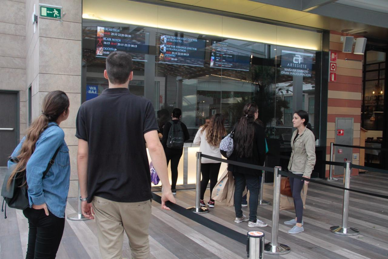 Ticket booth @ Artesiete at Fan Mallorca, Palma.