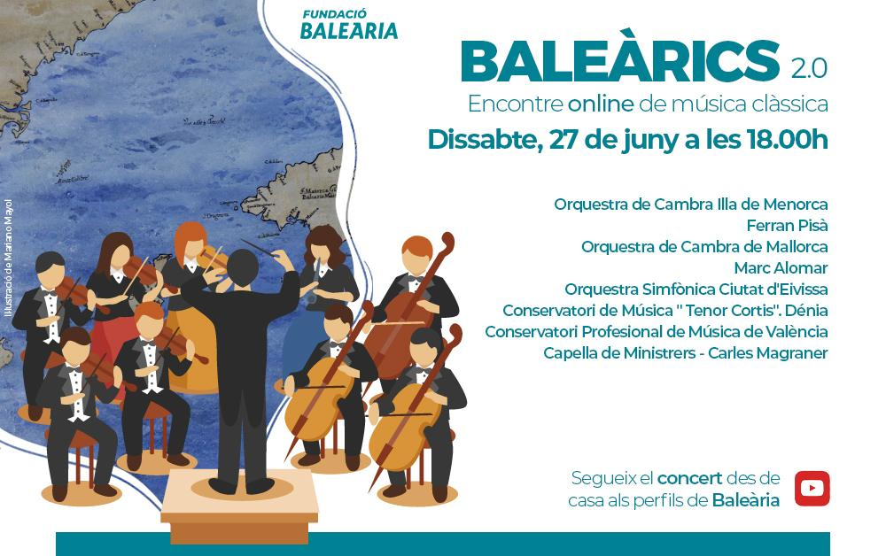 Classical concert on YouTube on June 27.