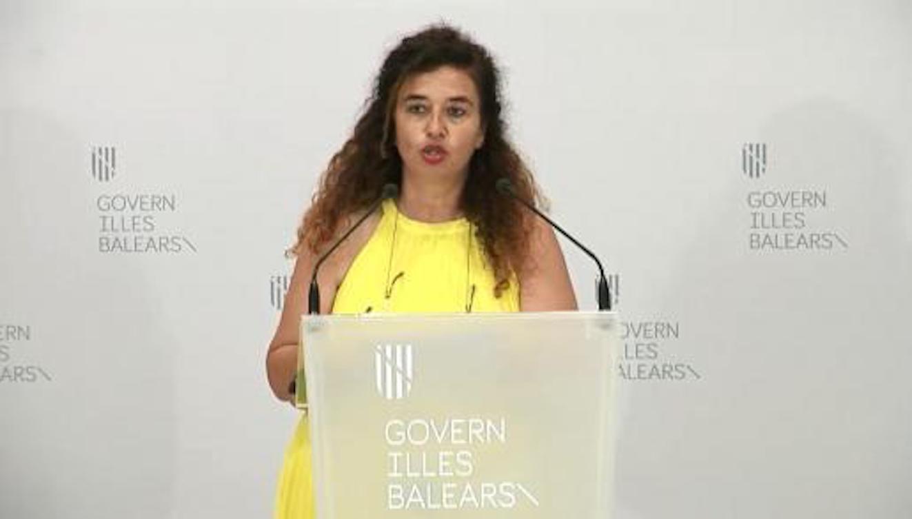 Pilar Costa, Balearic Executive Spokesperson