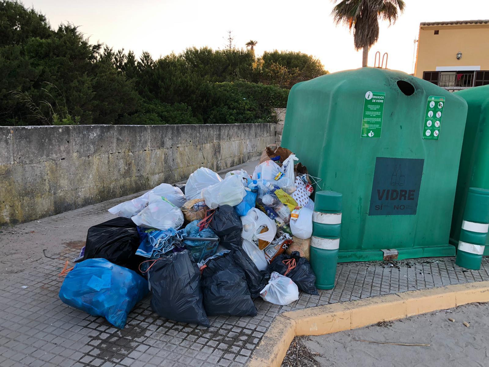 Santa Margalida multará el abandono de basura en Son Serra con hasta 500 euros.