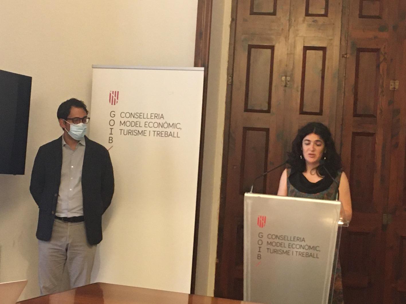 Iago Negueruela, Economic Model, Tourism & Labour Minister & Isabel Castro, Public Administration Minister