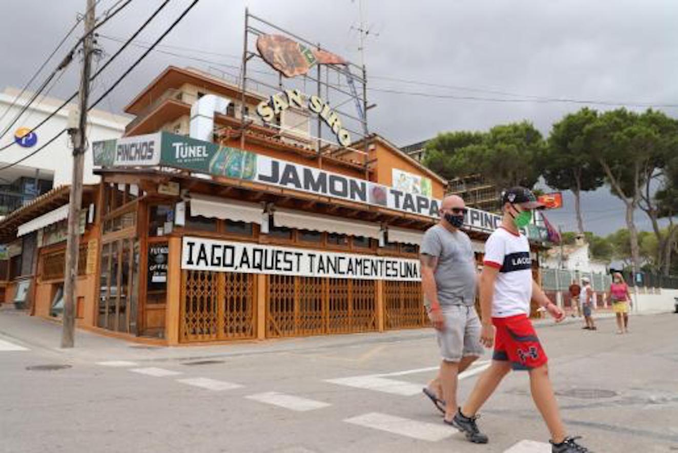 Calle Jamón, Playa de Palma.