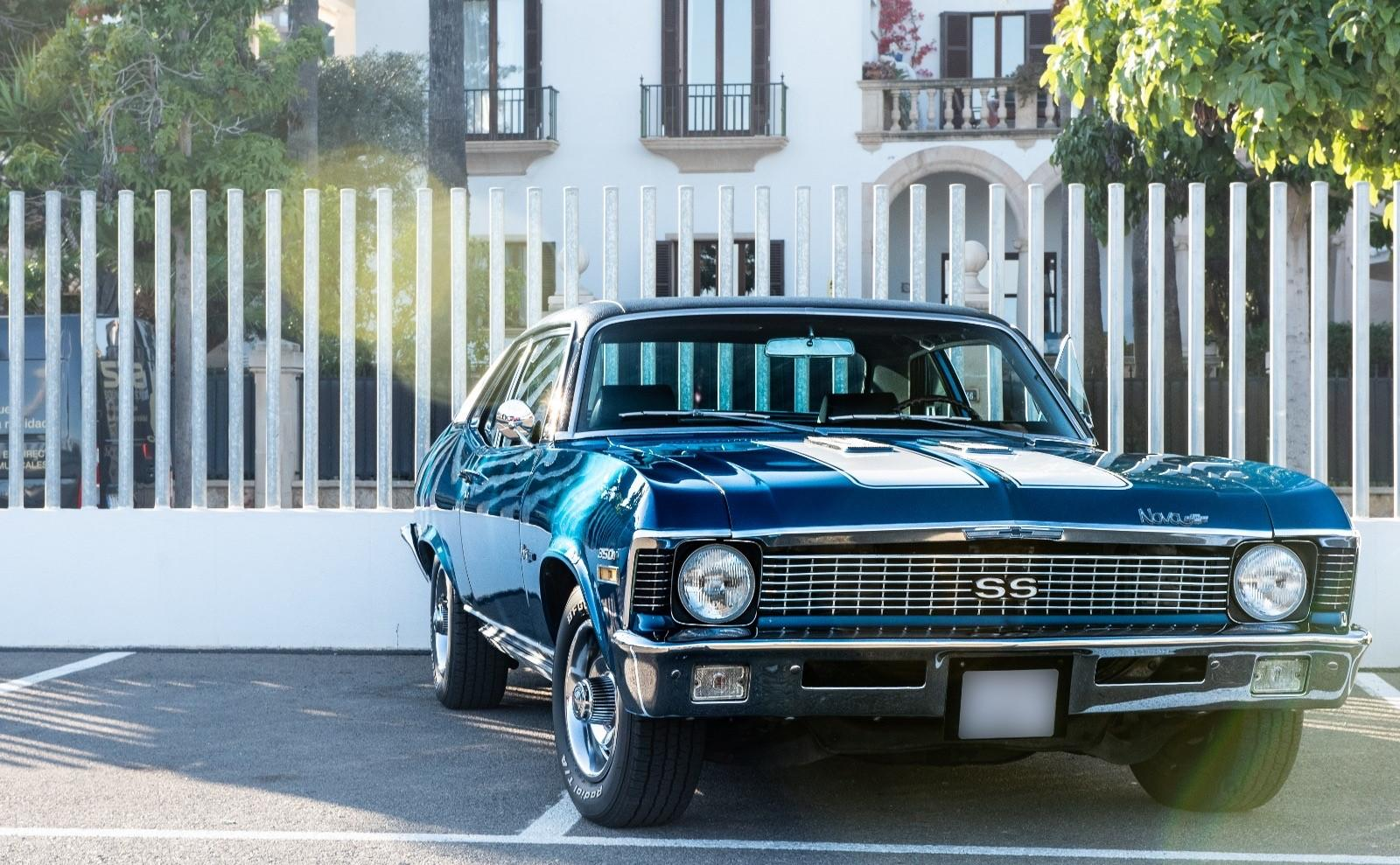 Chevy Nova SS, a fine musclecar from the '70s