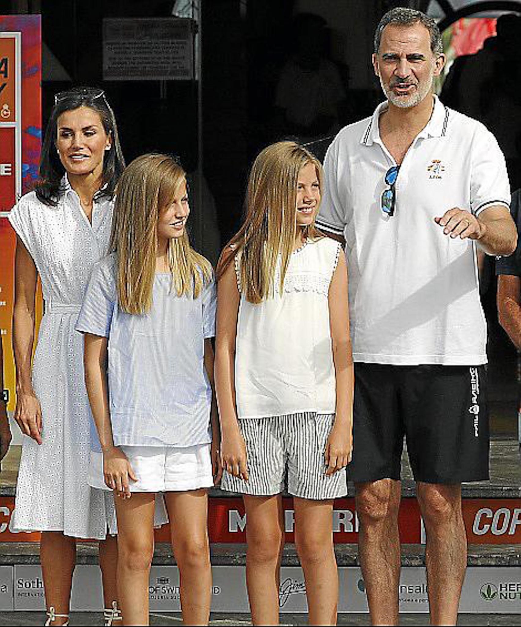 Spanish Royal Family.