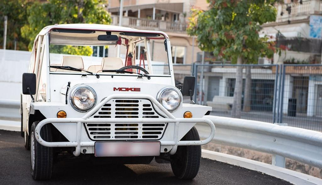 Mini Moke is everyone's favourite fun summer car.