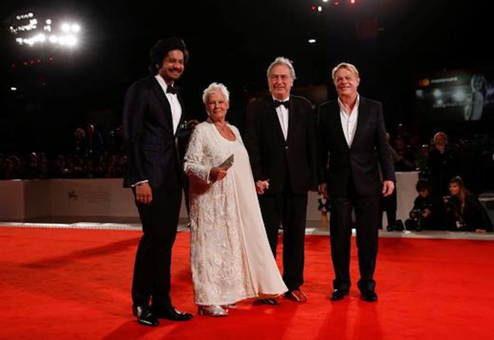 Ali Fazal, Judi Dench, Stephen Frears & Eddie Izzard at 'Victoria & Abdul' Premiere.