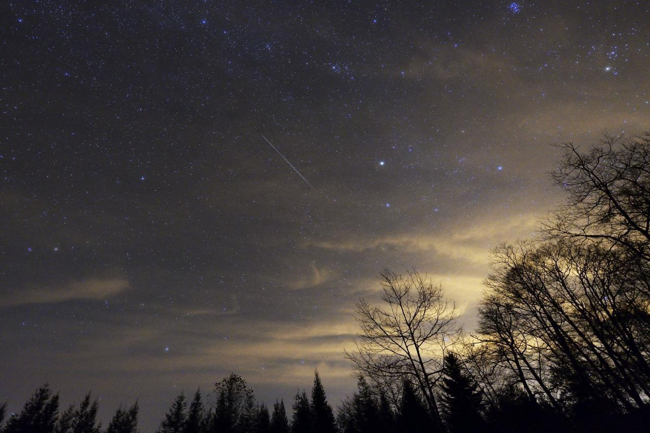 The Perseid Meteor Shower happens every year.
