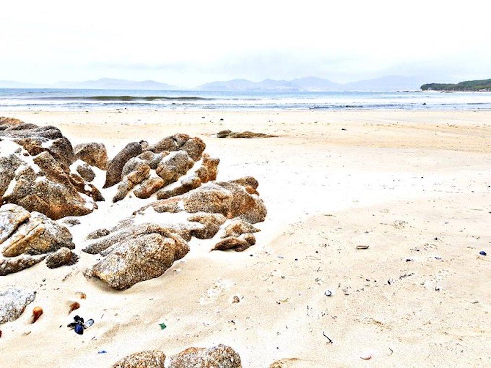 Praia de Samil, Galicia.