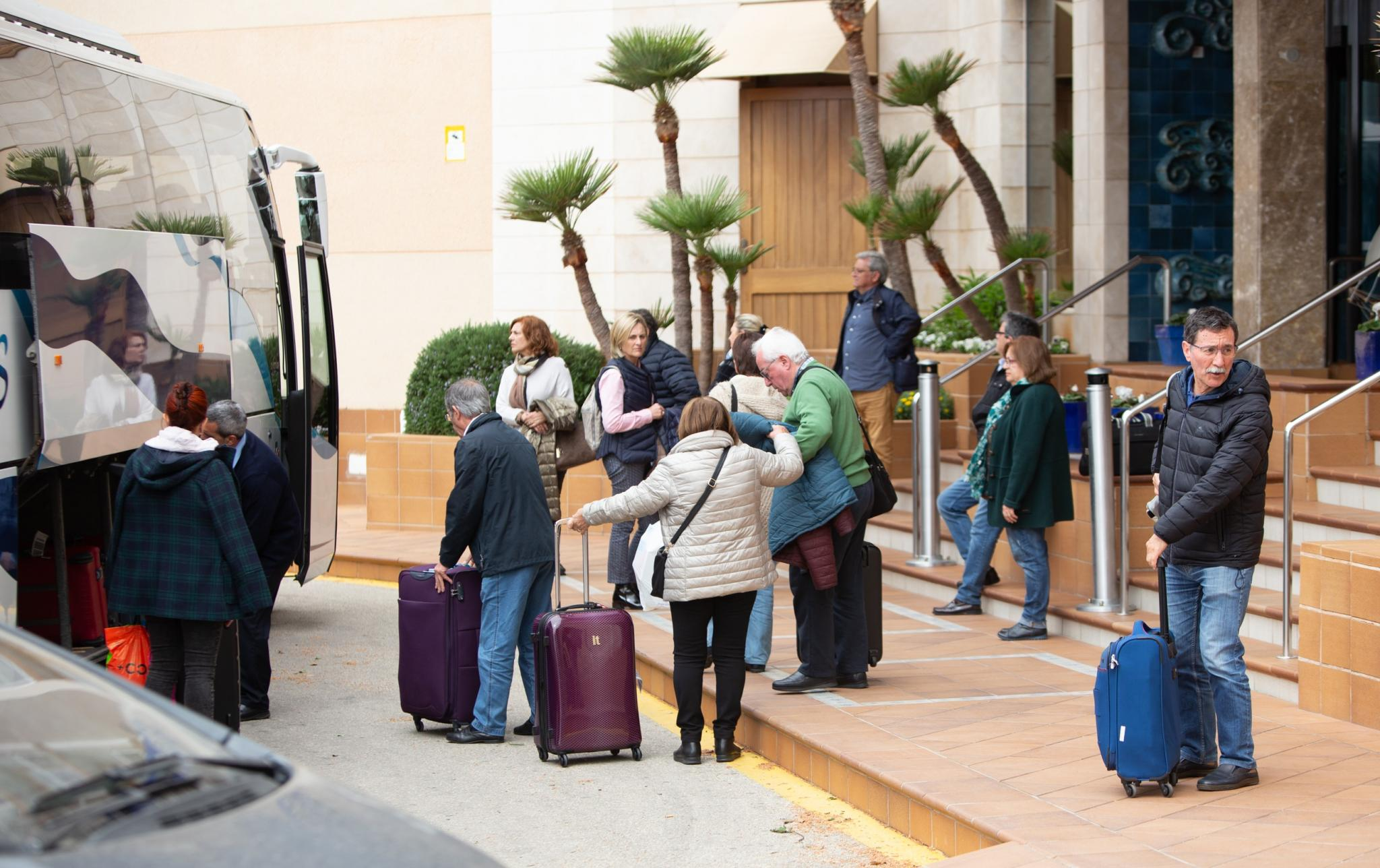 Imerso tourists in Minorca