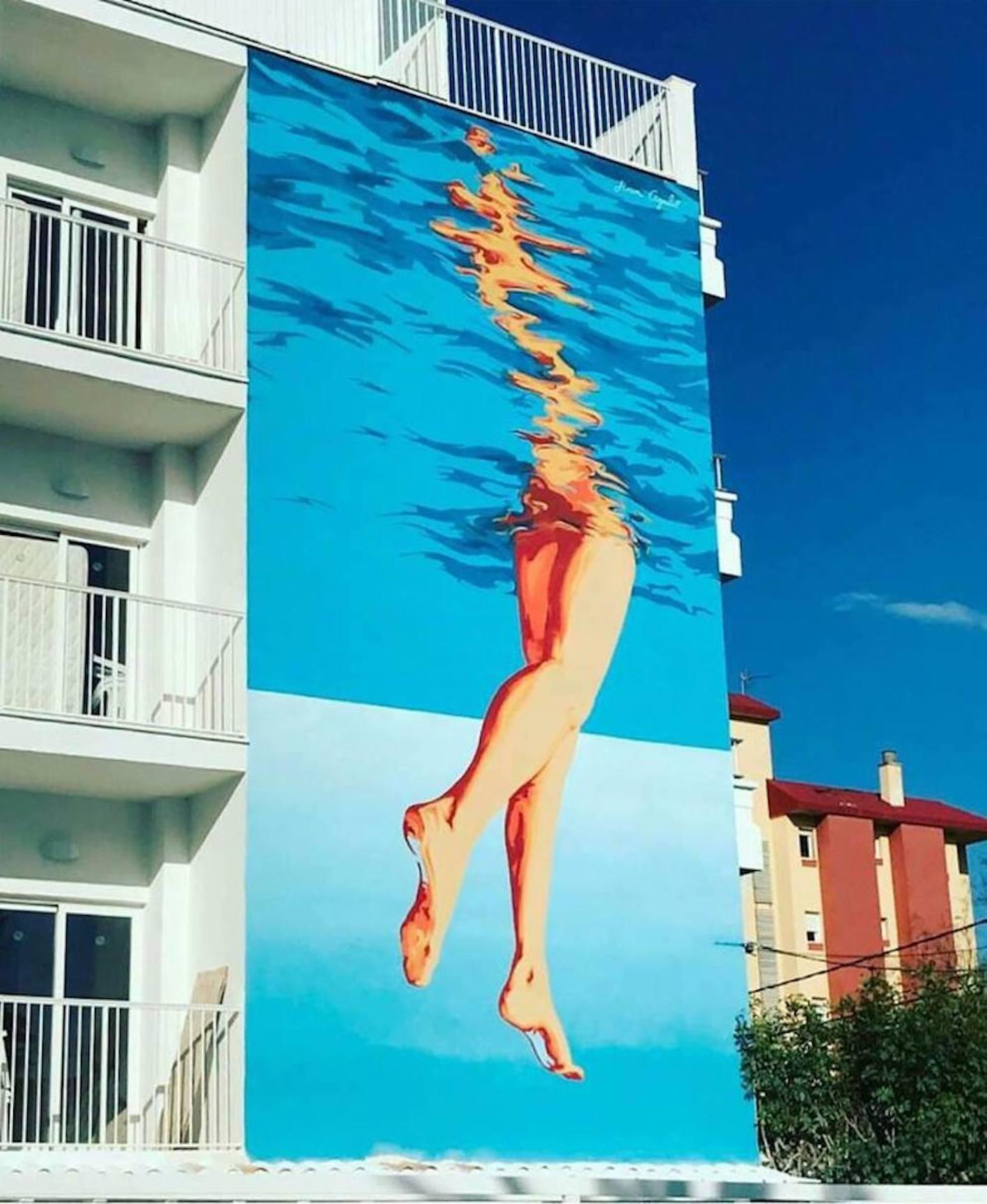 Mural at Hotel Carmen in Arenal.