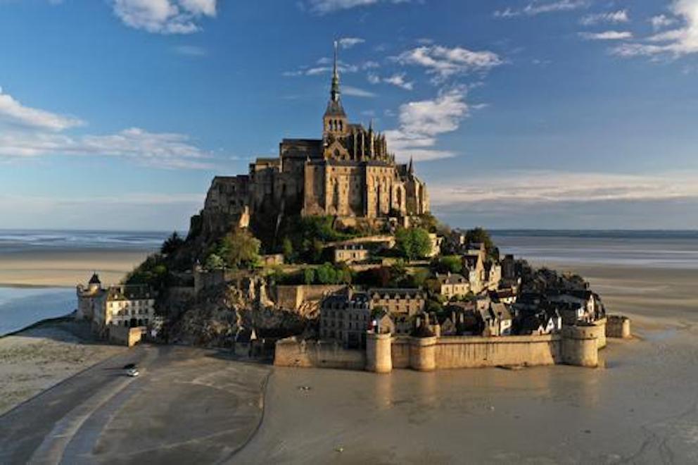 Mont Saint Michel, France.