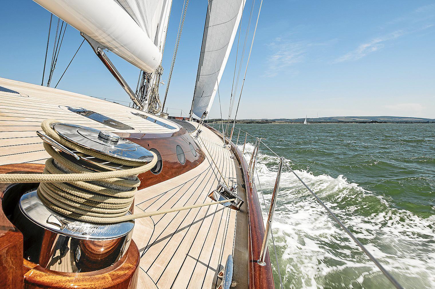 the Spirit 111 Sea Trials