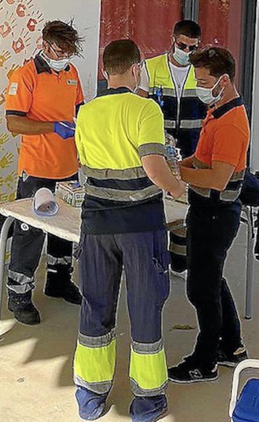 Llucmajor PCR tests.