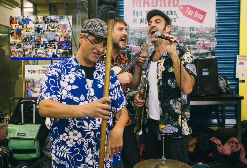 LLOSETA. MUSICA. EL grupo Monkey Doo , hoy en Lloseta.