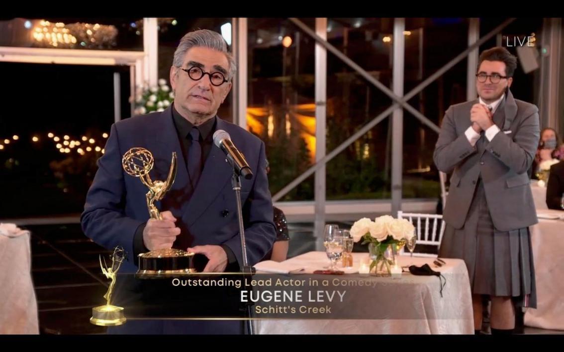 Eugene Levy, Best Actor Comedy, for 'Schitt's Creek'