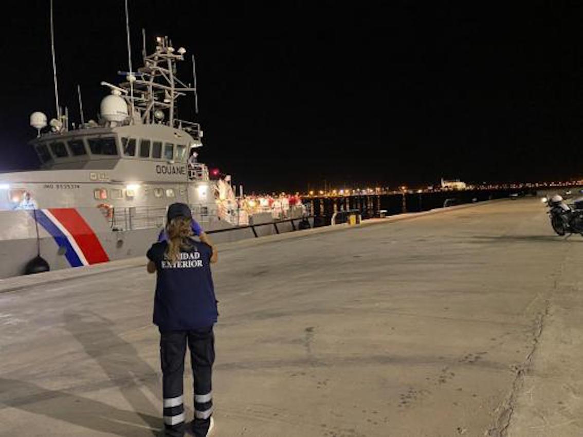 Armada Francesca arriving in Palma.