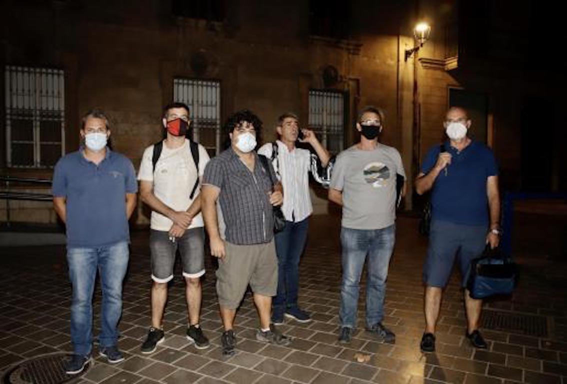 EMT Strike Committee, Palma.