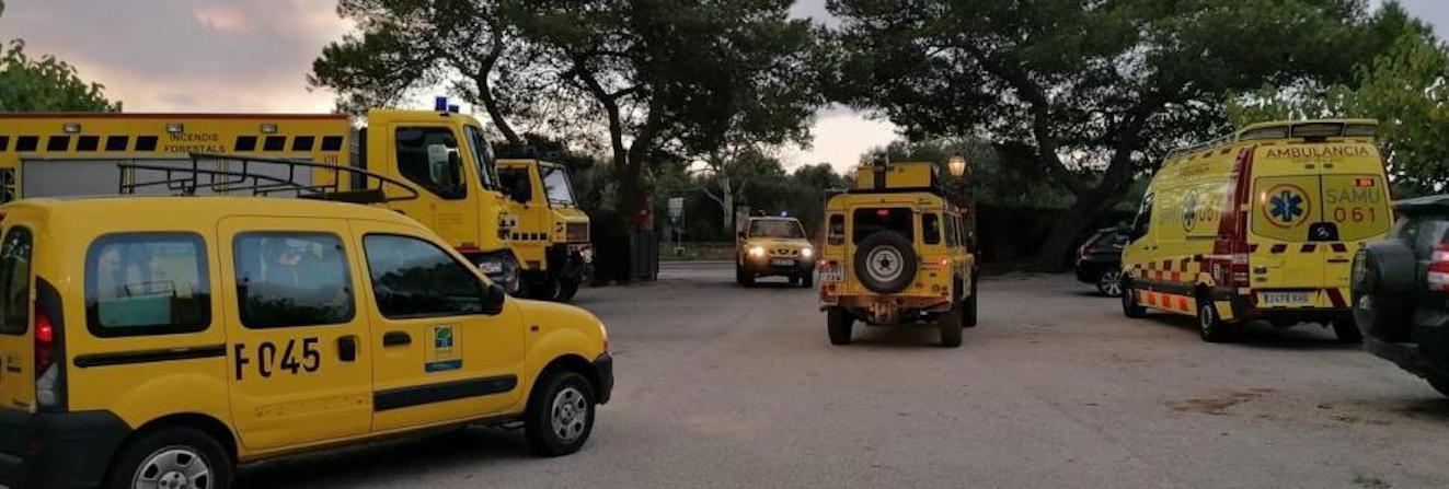 Emergency Services, Albufera, Majorca.