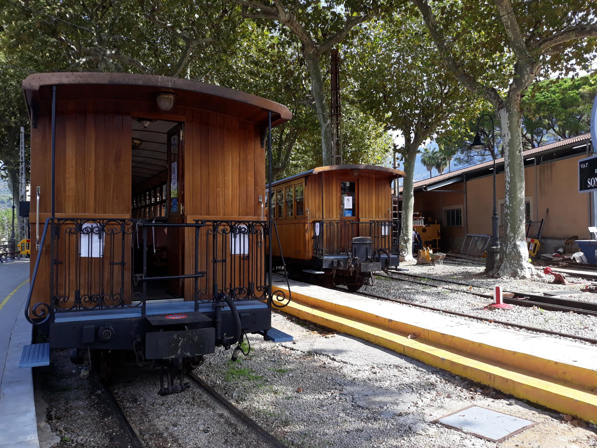 Soller train is up and running
