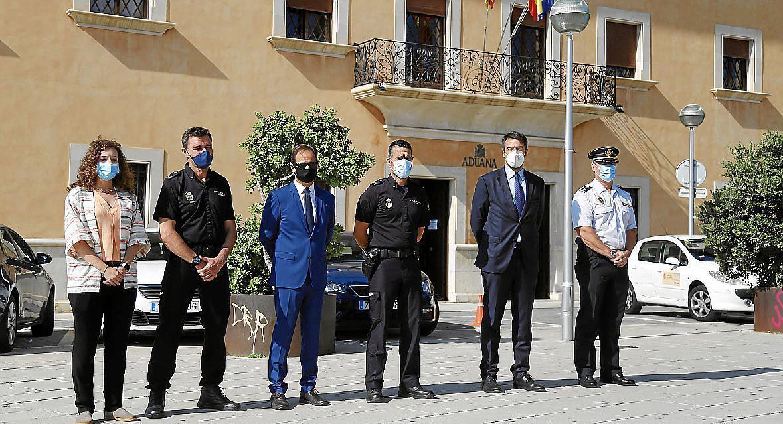 National Police & Customs Surveillance Personnel involved in Operation Goleta-Gratil'