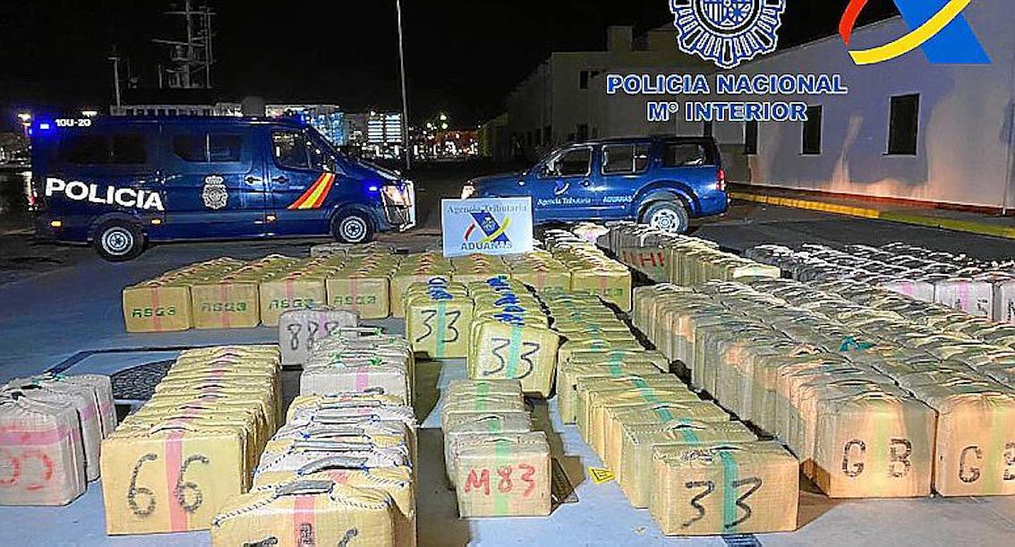 Drugs seized during 'Operation Goleta-Gratil'