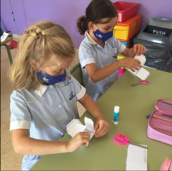 Year 3 making 3D shapes