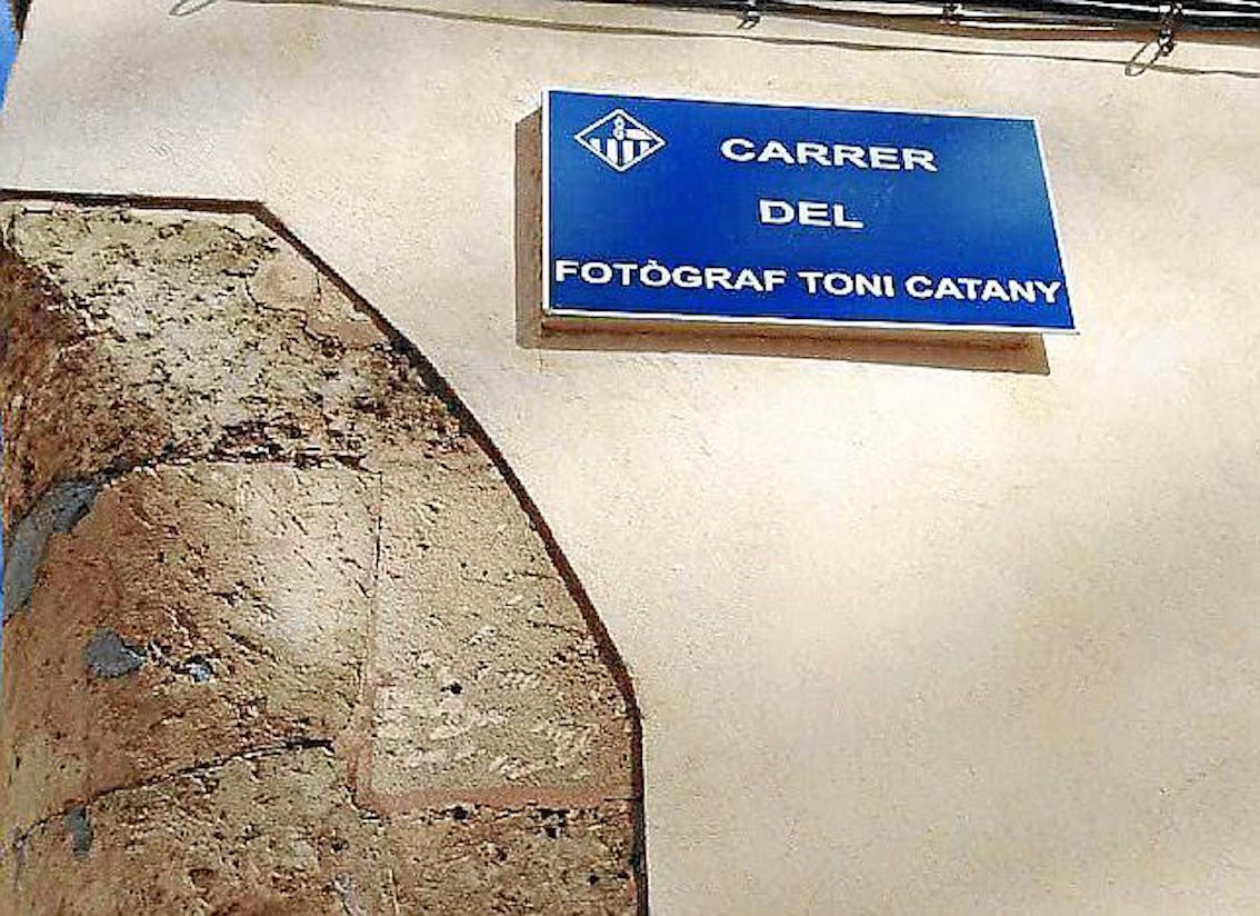 Carrer Fotògraf Toni Catany, Llucmajor.