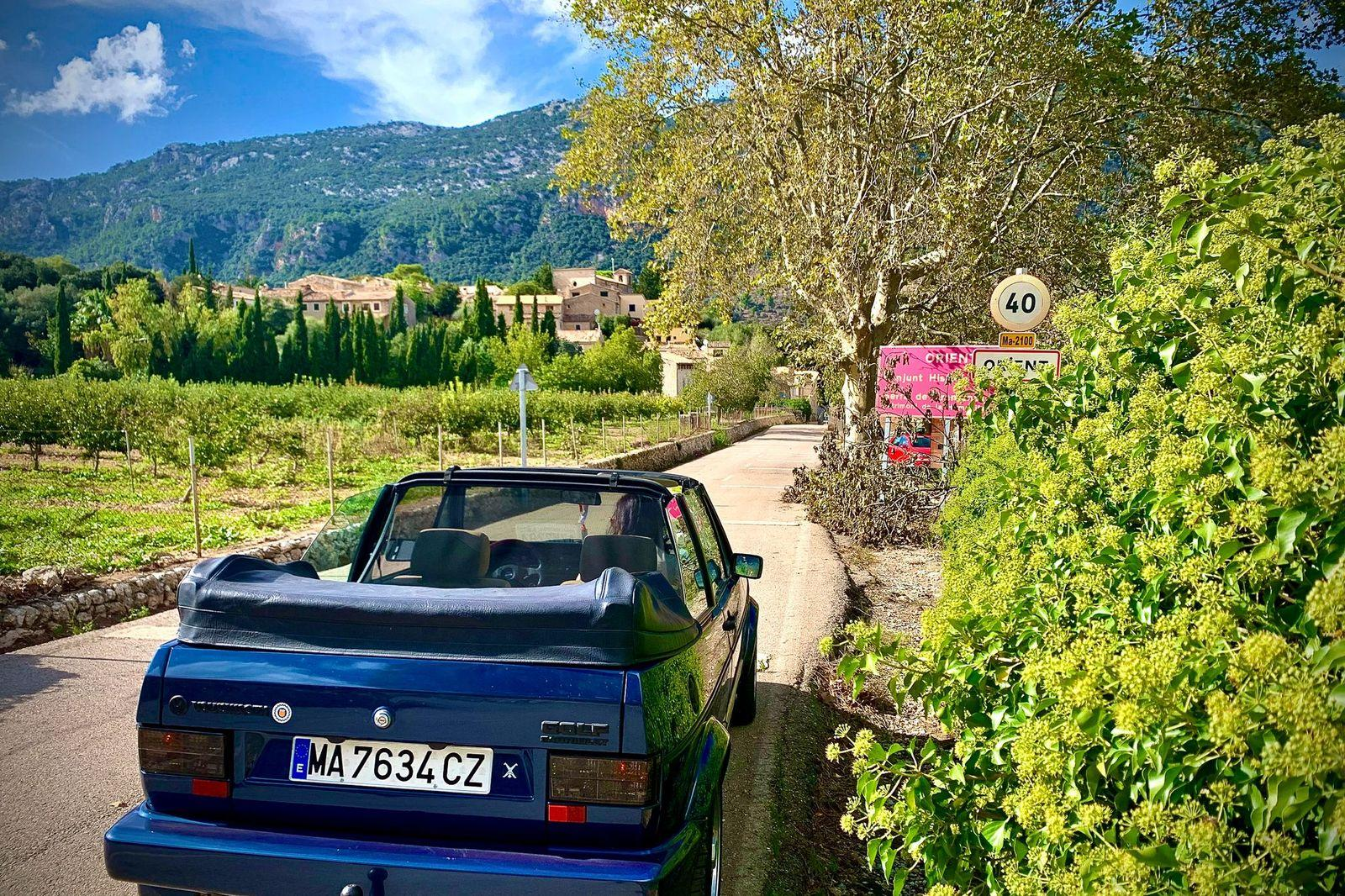 Classic Golf Cabrio GTI is just the ride for tracking down Pueblos