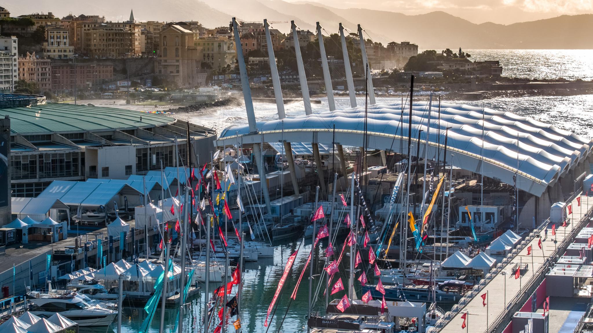 Plain Sailing for the 60th Genoa Boat Show