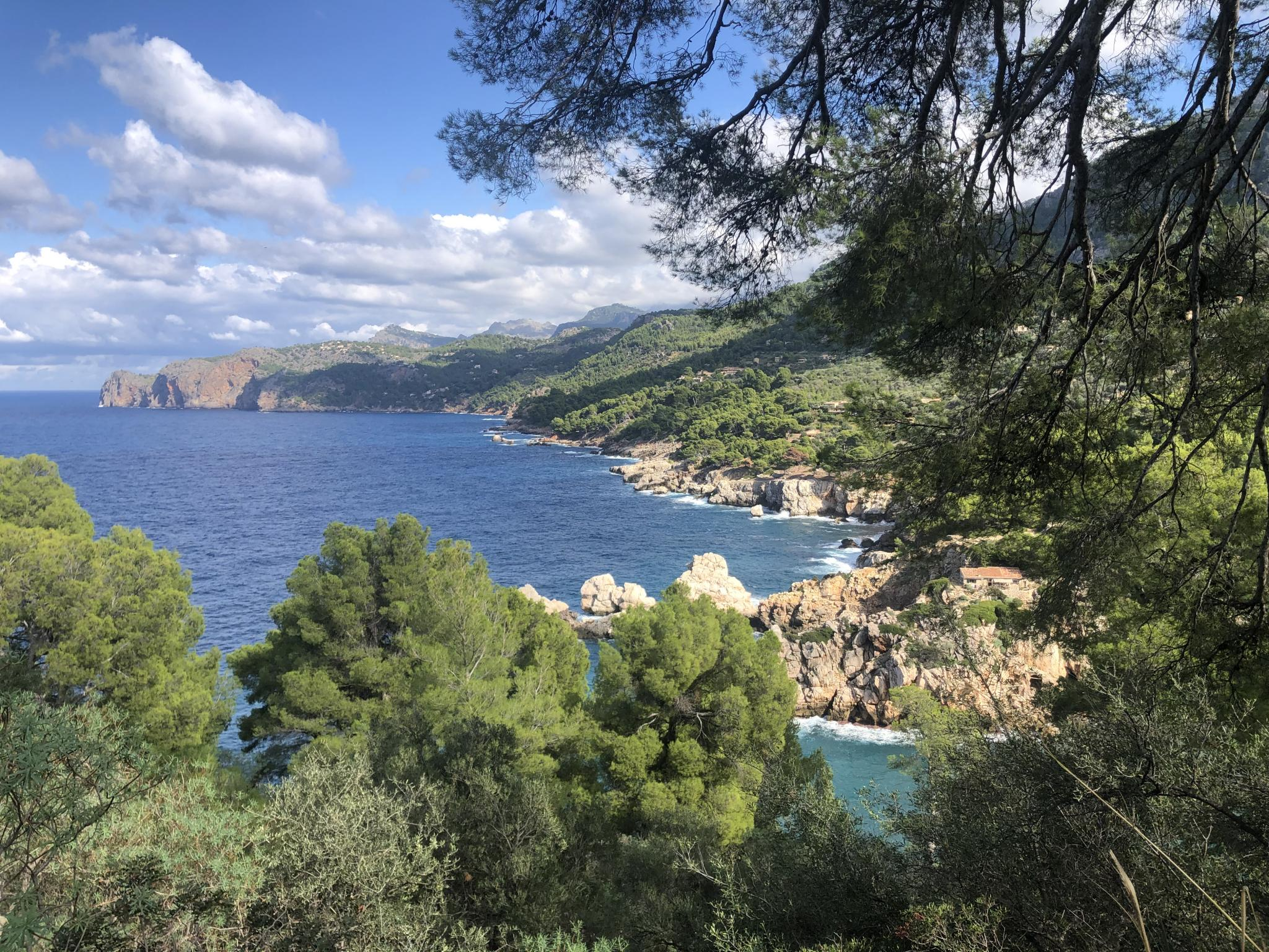 The coast of Soller Valley