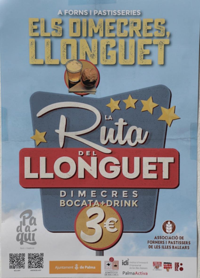 Ruta del Llonguet poster.