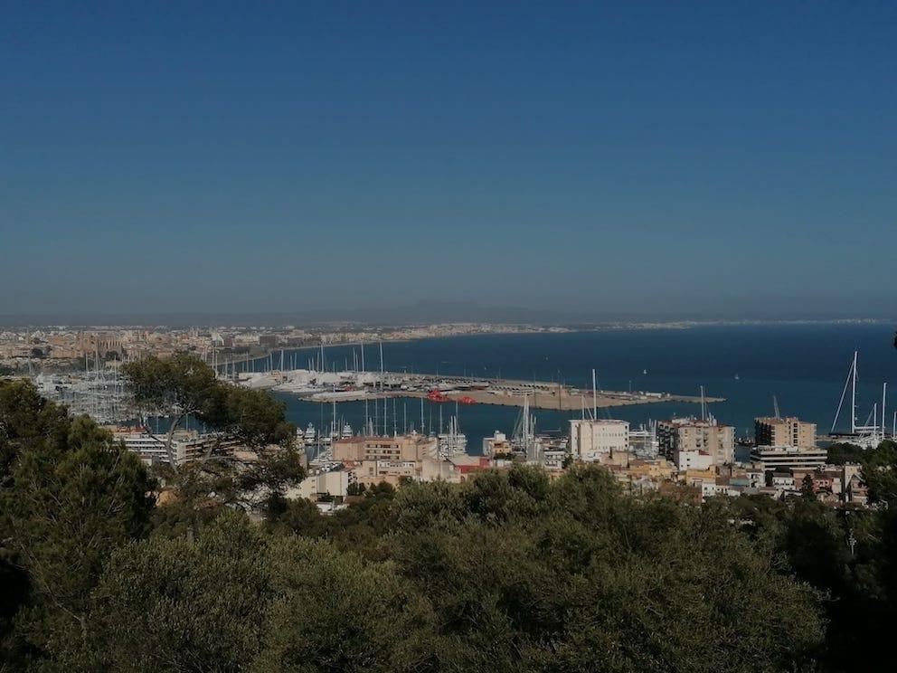 Palma Bay, Mallorca.