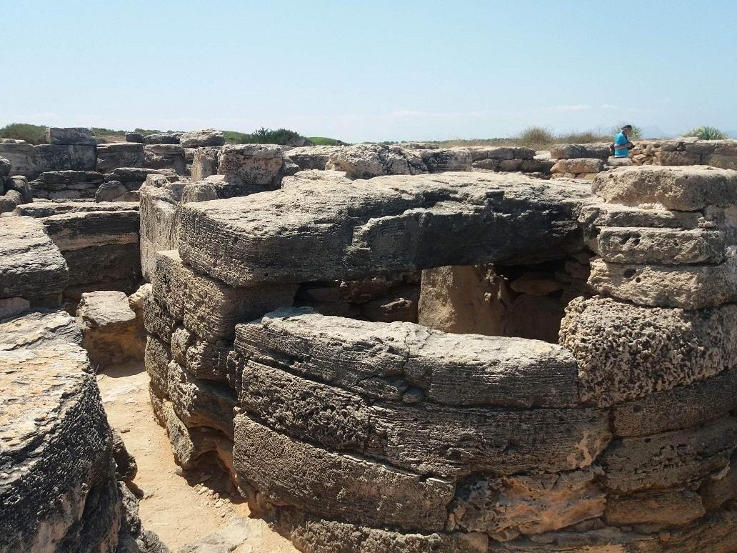 The Nacropolis at Punta des Fenicis