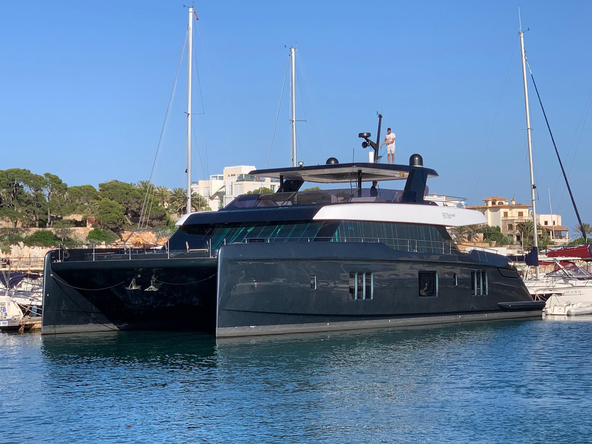 Rafa's new boat