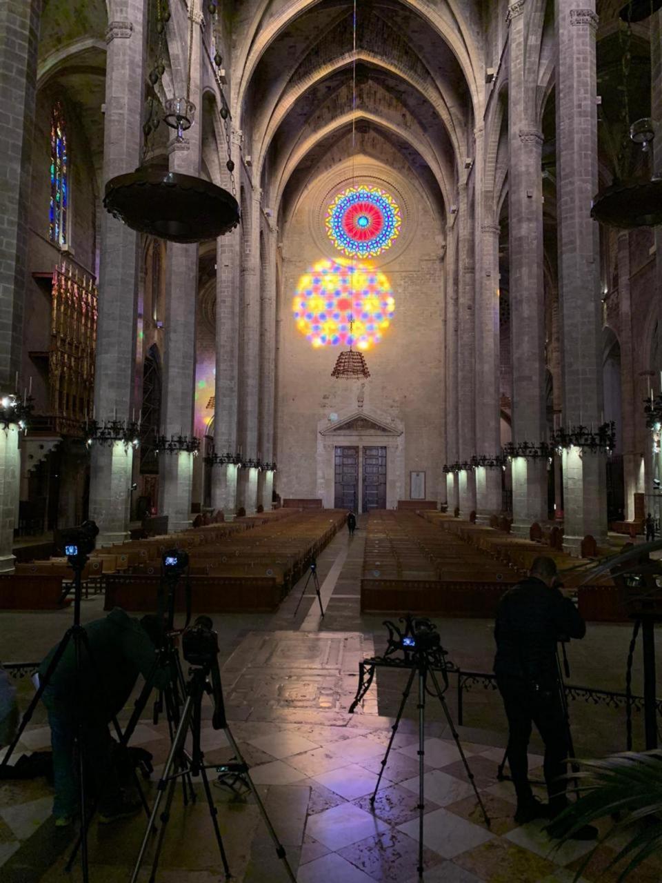 Festa de la Llum, Palma Cathedral.