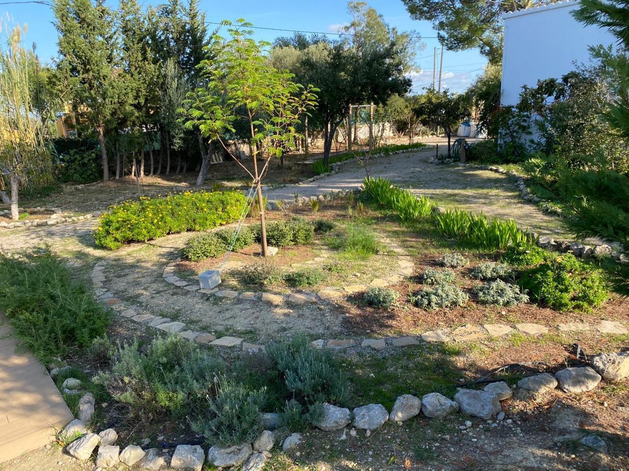 The Spiral Herb Garden