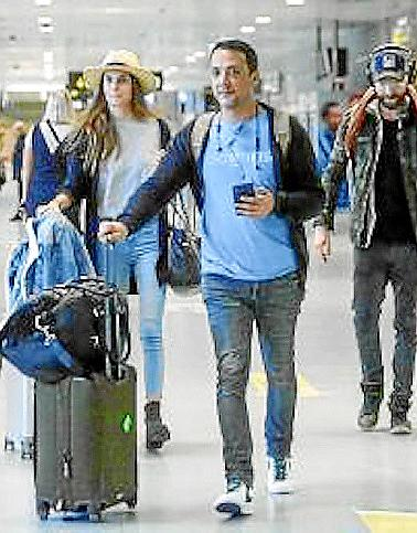 Travelers in Majorca