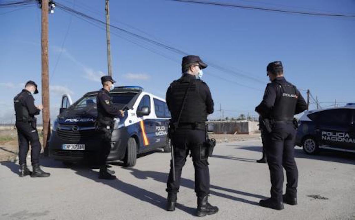 Policía de Son Banya.