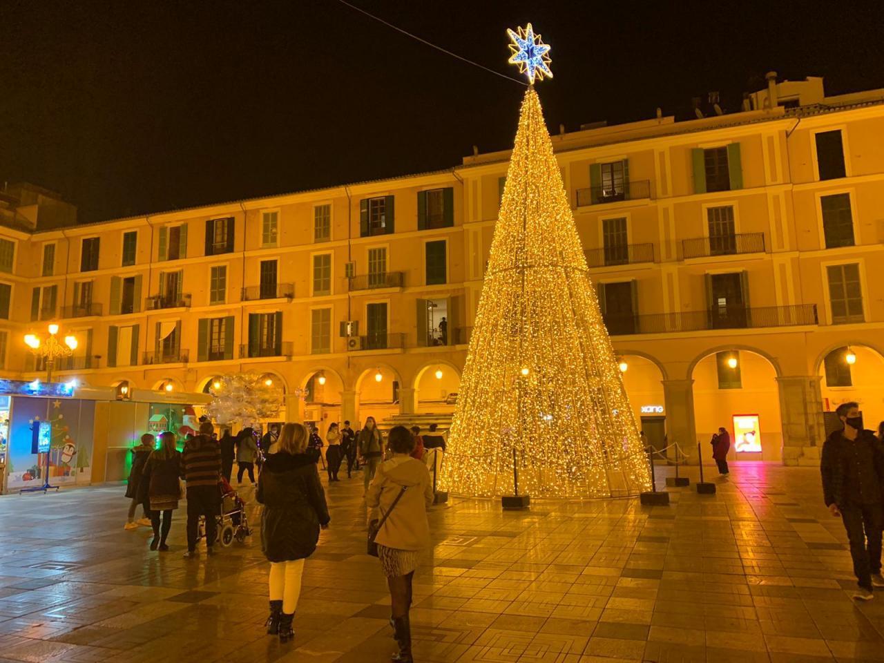 El árbol de Navidad de la Plaza Mayor